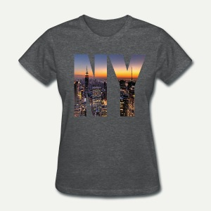 NY Skyline - Women's T-Shirt