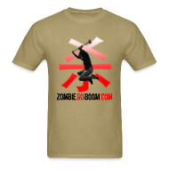 T-Shirts ~ Men's T-Shirt ~ Zombie Air!