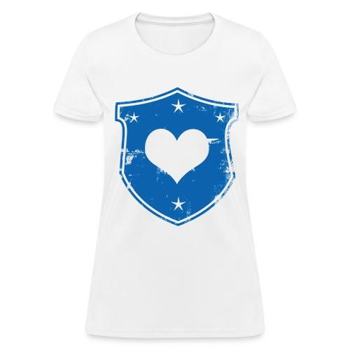 Heart Shield Standard Tee - Women's T-Shirt