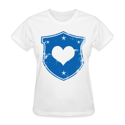 Heart Shield Standard Tee - Women's T-Shirt