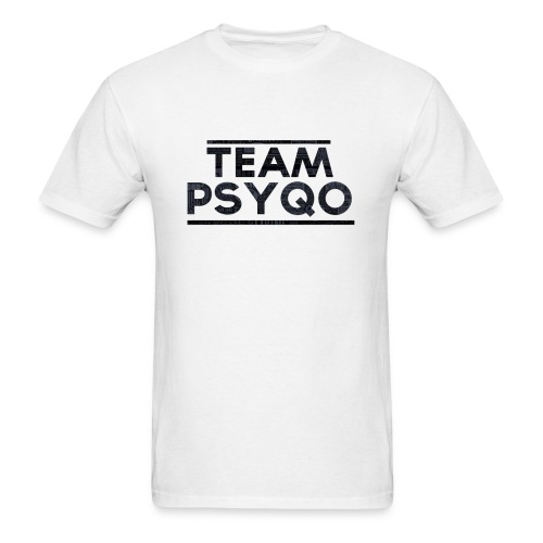 Lettered TEAM PSYQO - Standard Men's T-shirt - Men's T-Shirt