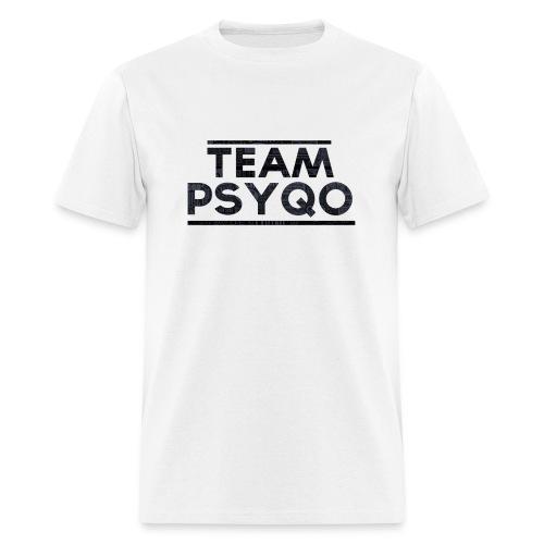 Lettered TEAM PSYQO - Standard Men's T-shirt - Men's T-Shirt