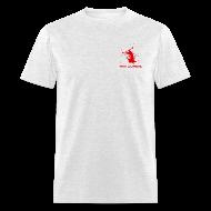 T-Shirts ~ Men's T-Shirt ~ Air Zombie Front & Back