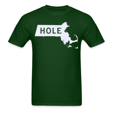 Mass hole Massachusetts T-Shirts