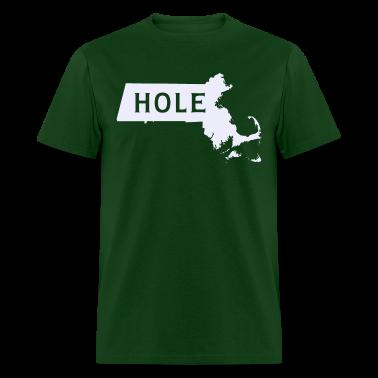 Mass hole Massachusetts T-Shirts