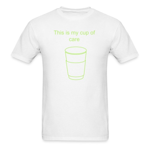 Cup of Care Mens - Men's T-Shirt