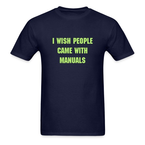 People Manuals Mens - Men's T-Shirt