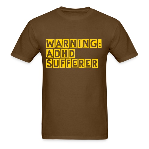 ADHD Mens - Men's T-Shirt