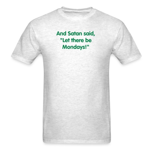 Satan Mondays Mens - Men's T-Shirt