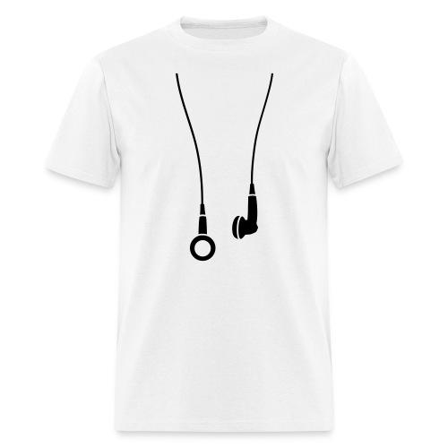 Headphones Hanging  - Men's T-Shirt