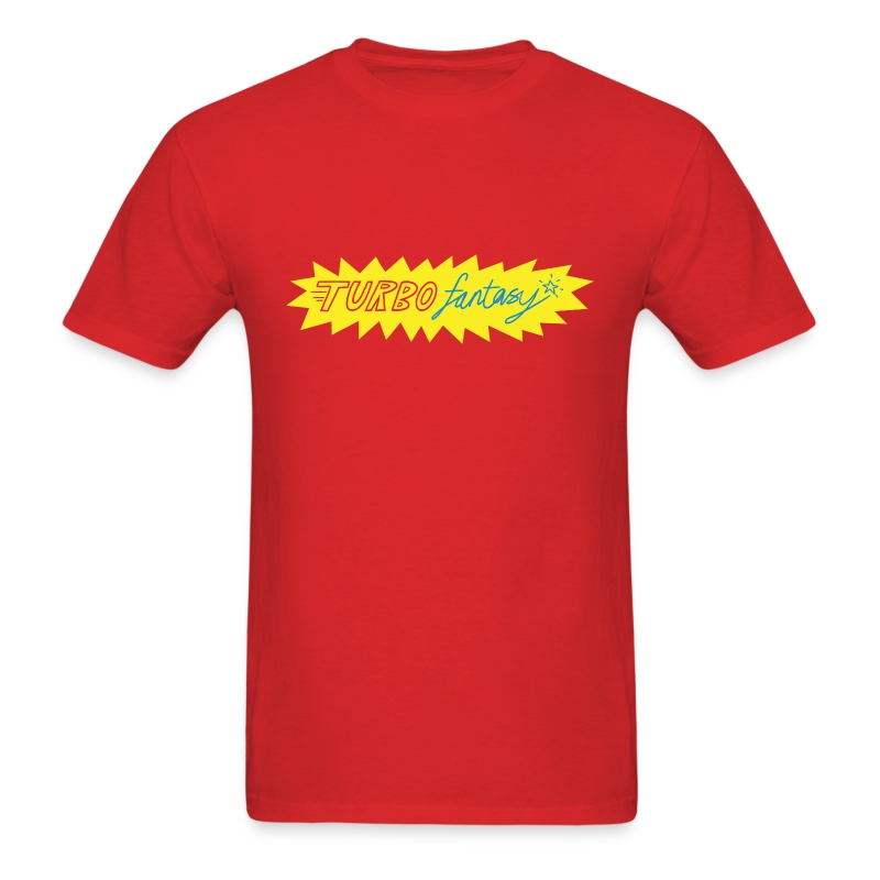 Turbo Fantasy - Turbo logo - Men's T-Shirt