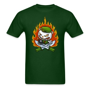 HTF Flippy Flame Tattoo - Men's T-Shirt
