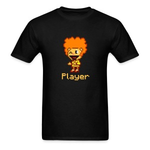 HTF Disco Bear Player (for dark shirts) - Men's T-Shirt