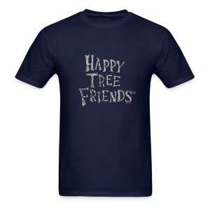 HTF_ Happy Tree Friends Logo - Men's T-Shirt