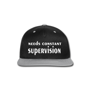 Supervision - Snap-back Baseball Cap