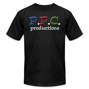 P.P.C. Productions shirt - Men's T-Shirt by American Apparel
