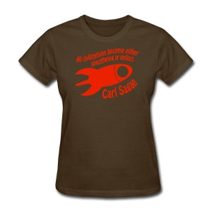 All Civilizations - Carl Sagan - Women's T-Shirt