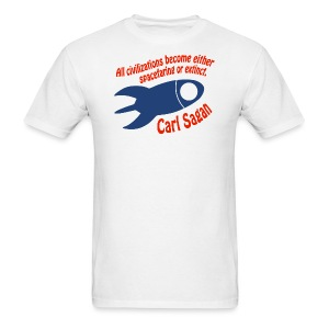 All Civilizations - Carl Sagan - Men's T-Shirt