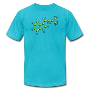 DMT molecule shirt - Men's T-Shirt by American Apparel