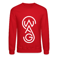 Long Sleeve Shirts ~ Men's Crewneck Sweatshirt ~ Swag Crewneck