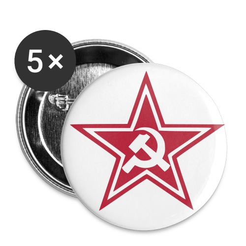 Soviet badge - Large Buttons