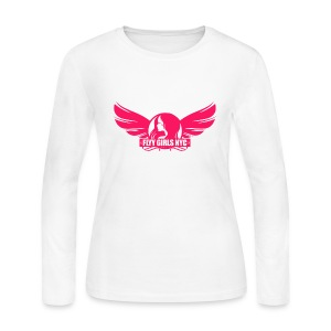 Flyy Girls NYC Long Sleeve T-shirt - Women's Long Sleeve Jersey T-Shirt