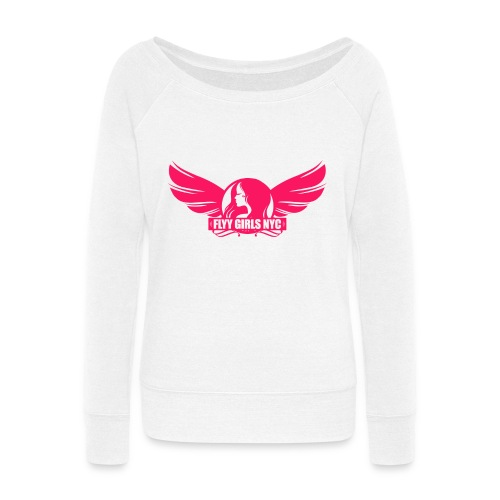 Flyy Girls NYC Wideneck Sweatshirt - Women's Wideneck Sweatshirt