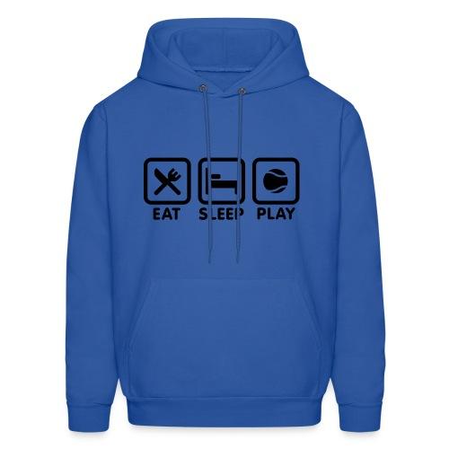 Eat, Sleep, Play Sweatshirt - Men's Hoodie