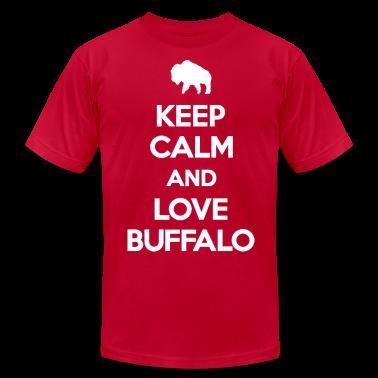Keep Calm and Love Buffalo T-Shirts