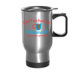 CU quitters travel mug - Travel Mug