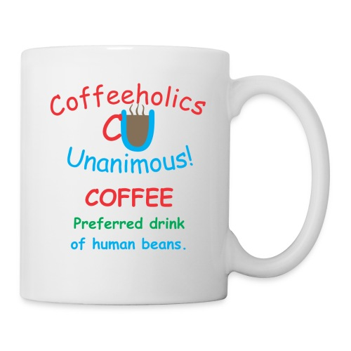 CU human beans cup - Coffee/Tea Mug