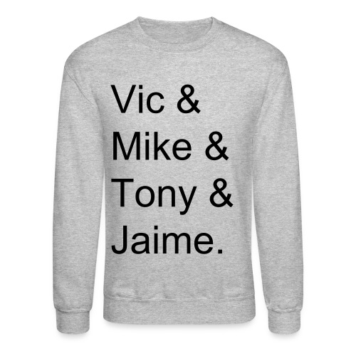 pierce the veil name crewneck - Crewneck Sweatshirt