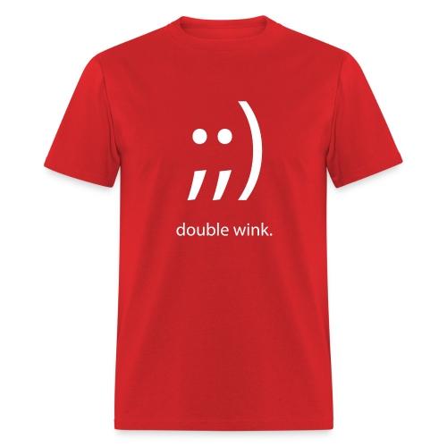 Double Wink (Men's Standard) - Men's T-Shirt