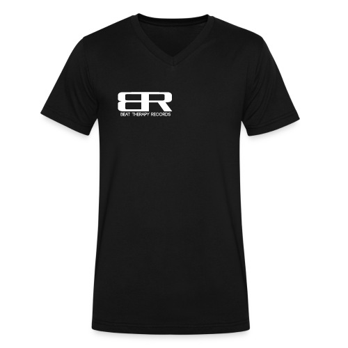 BTR WHITE5.png - Men's V-Neck T-Shirt by Canvas