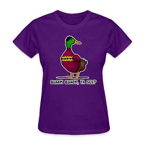 Cosby Duck - Women's T-Shirt