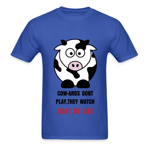 COW-ARDS - Men's T-Shirt
