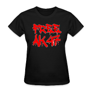 Women's T-Shirts ~ Women's T-Shirt ~ Free AK47 Women's T-Shirt