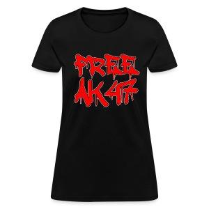 Free AK47 Women's T-Shirt  - Women's T-Shirt