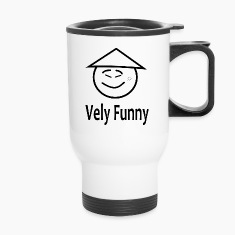 vely funny Bottles & Mugs