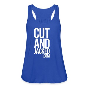 CutAndJacked Type | Womens flowy tank - Women's Flowy Tank Top by Bella