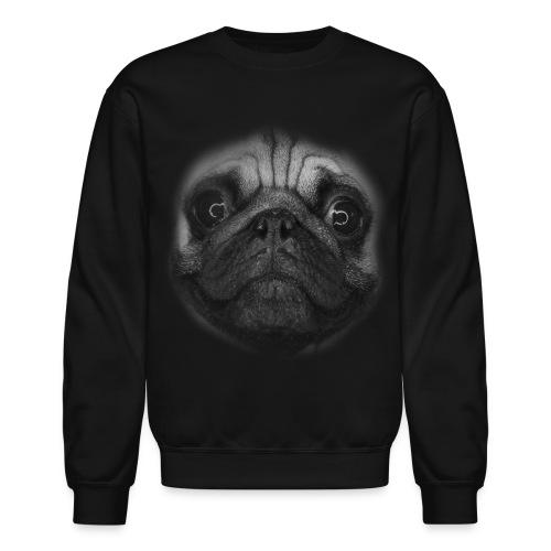 Pug-face Sweatshirt - Crewneck Sweatshirt