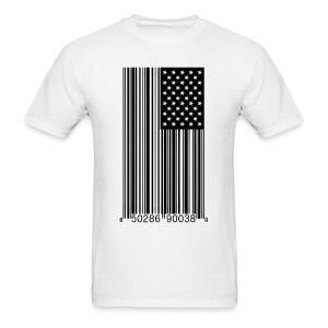 Barred America - Men's T-Shirt