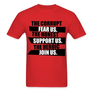 Corruption - Men's T-Shirt