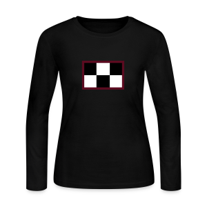 Madotsuki's Shirt V2 Wide Red Edge - Women's Long Sleeve Jersey T-Shirt