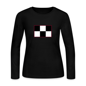 Madotsuki's Shirt V2 Thin Red Edge - Women's Long Sleeve Jersey T-Shirt