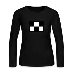 Madotsuki's Shirt V2 Wide Black Edge - Women's Long Sleeve Jersey T-Shirt