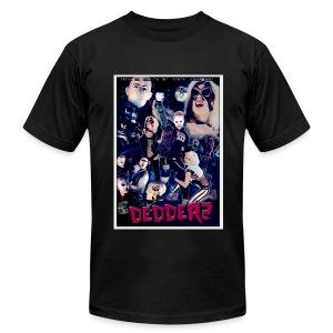 Dedderz Movie Montage Video Cover T-Shirt - Men's Fine Jersey T-Shirt