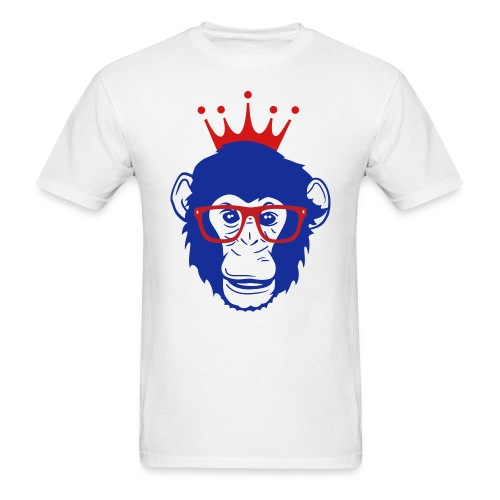 MONKEY NERD - Men's T-Shirt