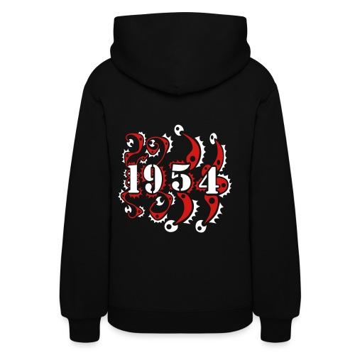 1954 Year Birthday Design - Women's Hoodie