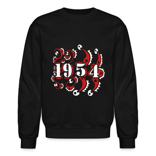 1954 Year Birthday Design - Crewneck Sweatshirt